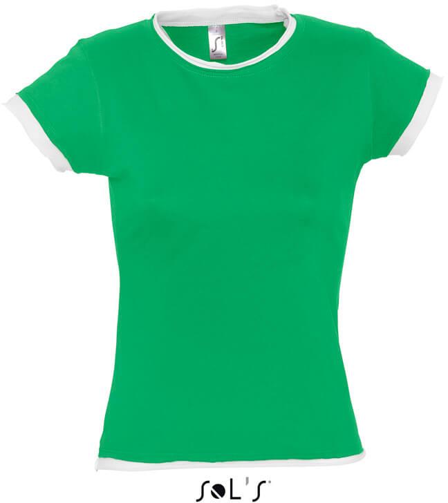 Moorea Dámské lemované tričko
