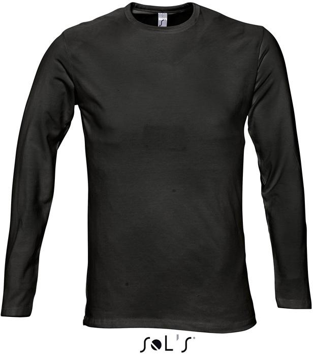 Century Pánske elastické tričko, dlhý rukáv