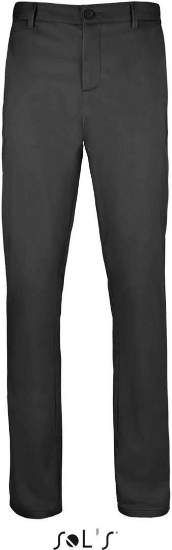 Pánske saténové stretch nohavice