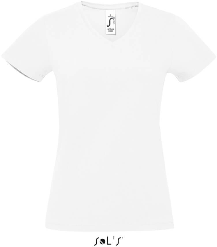 Dámske heavy tričko s V výstrihom