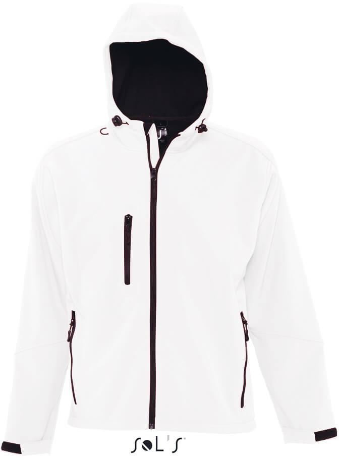 Replay Men Pánska 3-vrstvová softshellová bunda s kapucňou