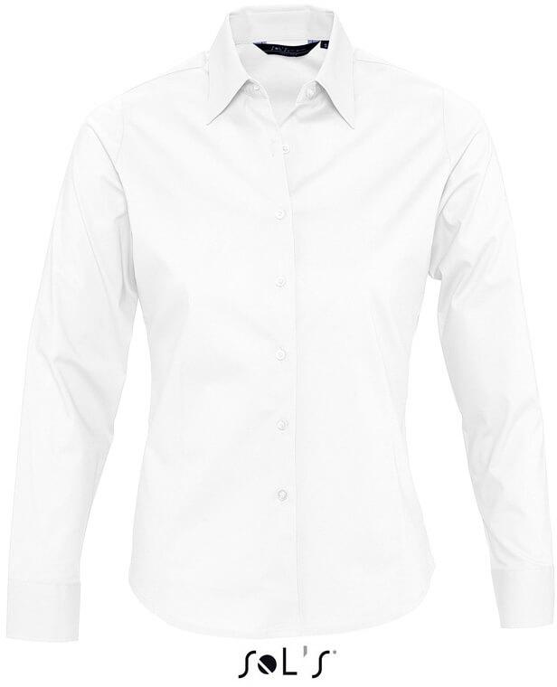 eden Dámska elastická košeľa s dlhým rukávom