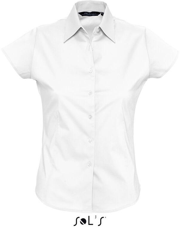 Excess Dámska elastická košeľa s krátkym rukávom