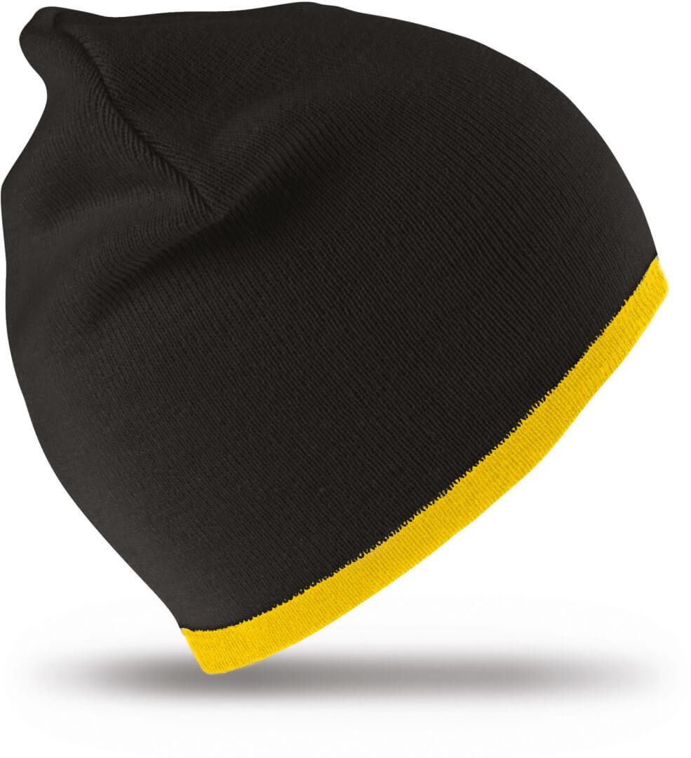 RC046X Obojstranná módna pletená čiapka