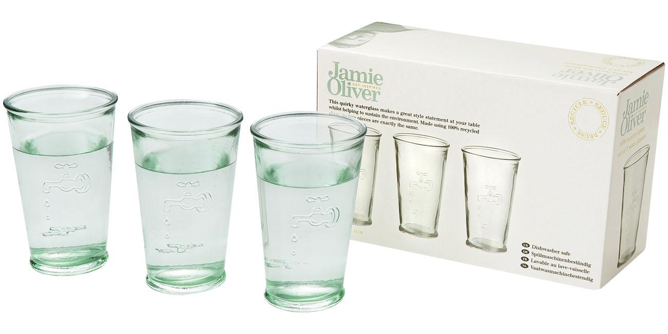 3 poháre na vodu