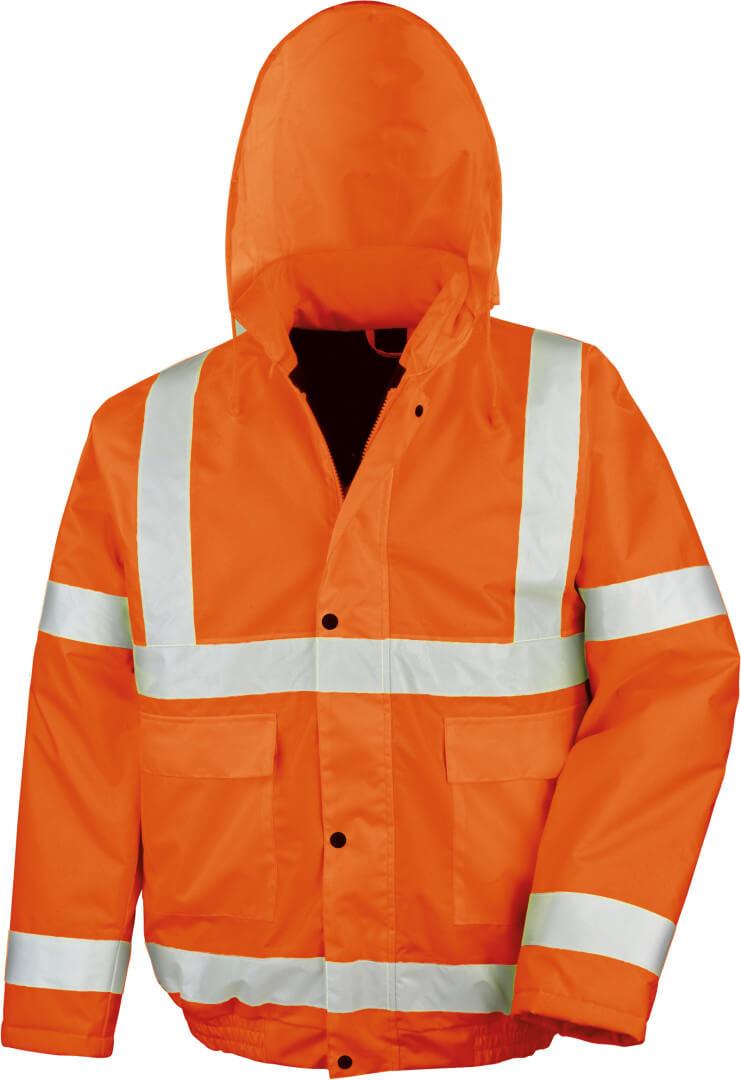 Reflexná zimná bunda