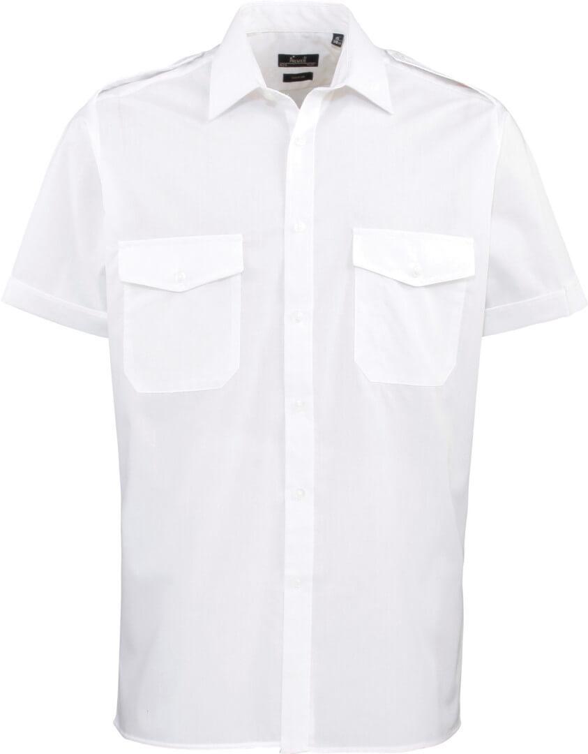 Pilotná košeľa s krátkym rukávom
