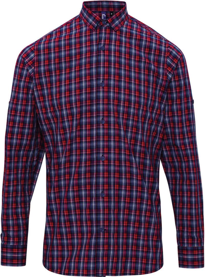 """Popelínová košeľa """"SIDEHILL"""" dlhý rukáv"""