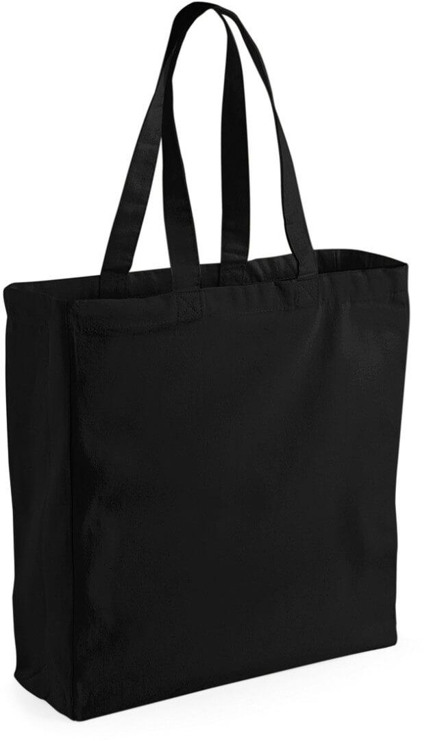 W108 Klasická plátená taška