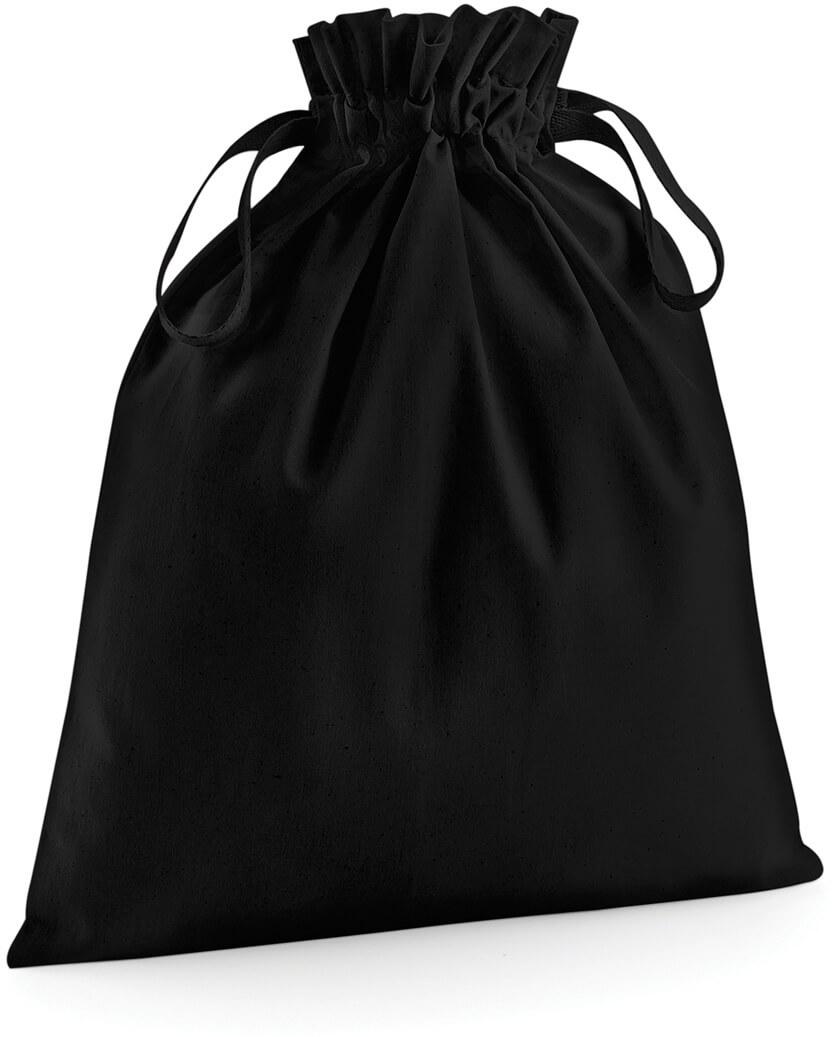 W118 Bio-bavlnená taška so sťahovacou šnúrkou