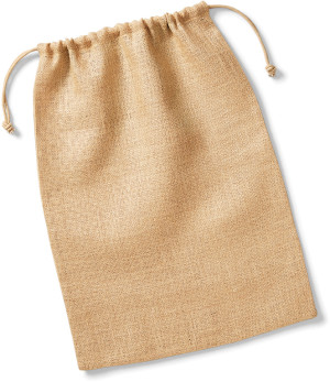 W415 Jutová taška so šňurkou