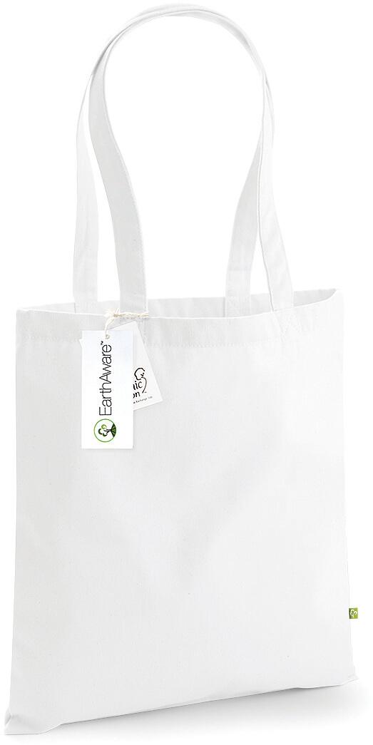 W801 EarthAware™ prírodná bavlnená taška