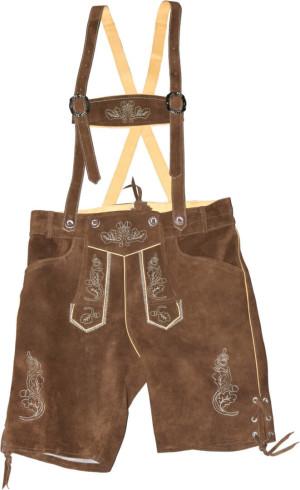 Pánske kožené nohavice krátke