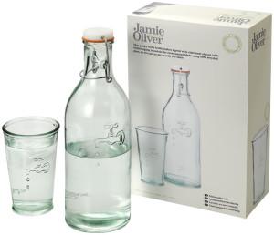 obrazok Karafa na vodu s pohárom - Reklamnepredmety