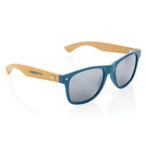 Slnečné okuliare z bambusu a pšeničnej slamy