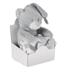 OSSET plyšový medvedík s dekou