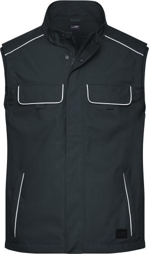 Pracovná softshellová ľahká vesta Solid