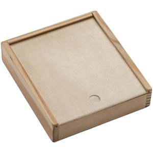 obrazok Karty v drevenej krabici - Reklamnepredmety
