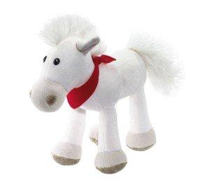 """Plyšový kôň """"Jonny"""" s červenou šatkou"""