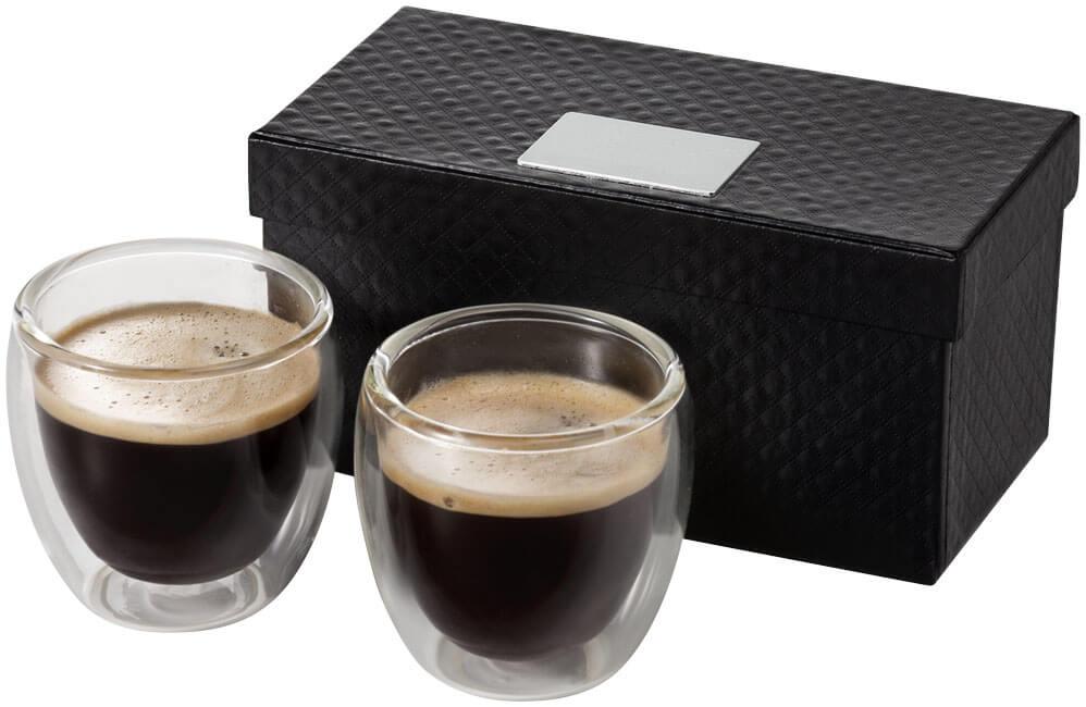 Dvojdielna sada na espresso Boda