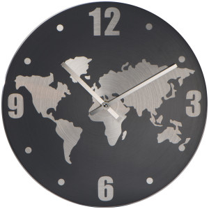 Hliníkové nástenné hodiny