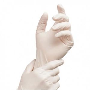 Jednorázové latexové rukavice