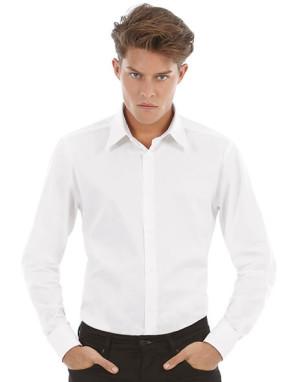 obrazok Košeľa Stretch s dlhými rukávmi - Reklamnepredmety