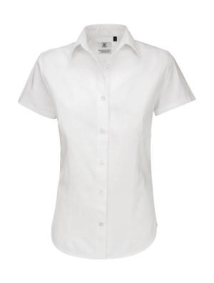 obrazok Dámska košeľa Sharp Twill s kratkými rukávmi - Reklamnepredmety
