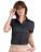 Reklamnepredmety Dámska košeľa Sharp Twill s kratkými rukávmi