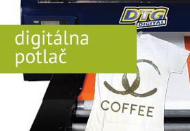 Priama digitálna potlač textilu