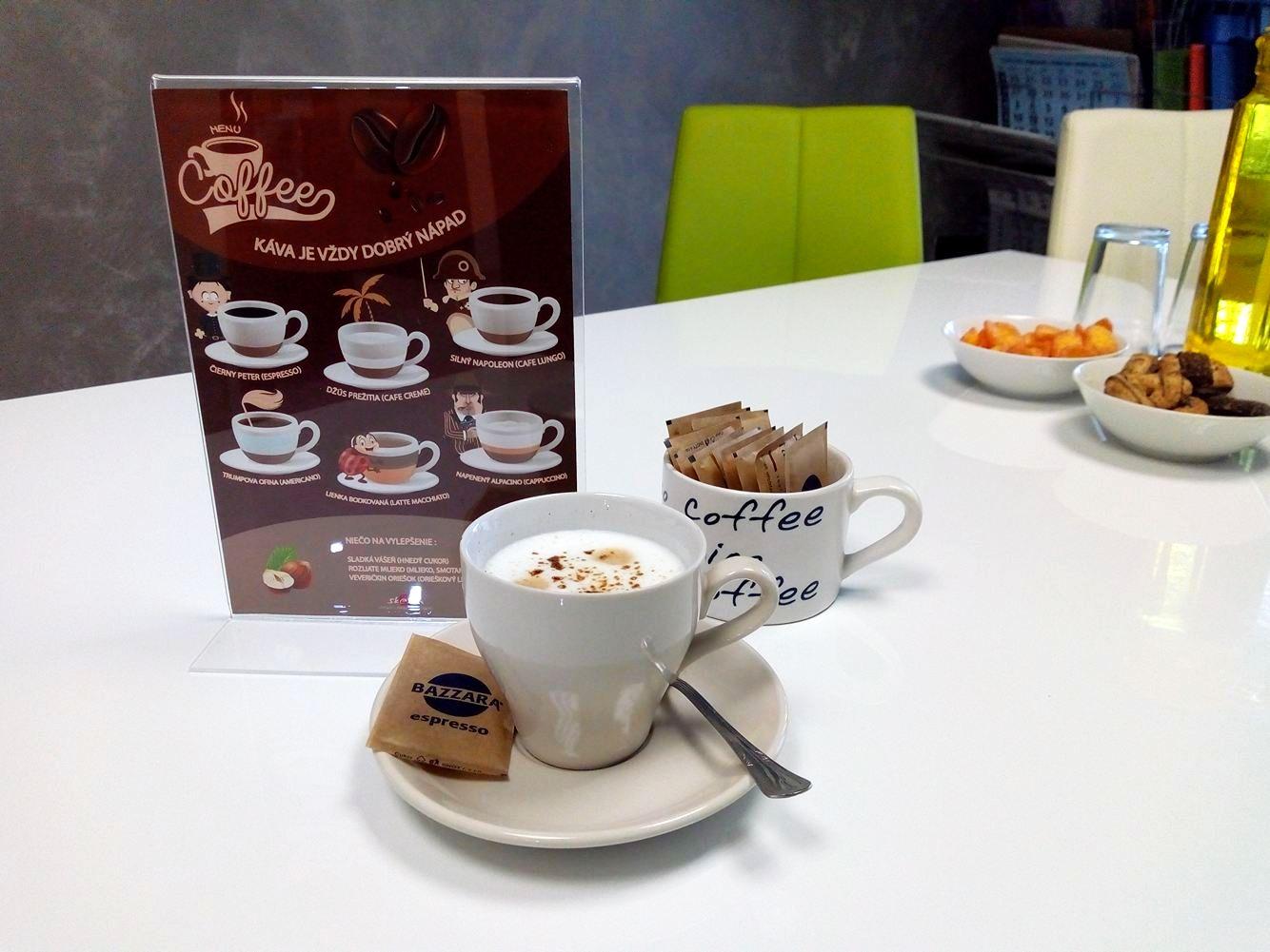 Zastavte sa u nás na kávu