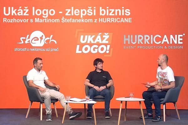 Ukáž logo - zlepši biznis: Rozhovor s Martinom Štefanekom z Hurricane